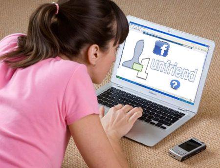 Moet ik mijn ex ontvrienden op facebook?